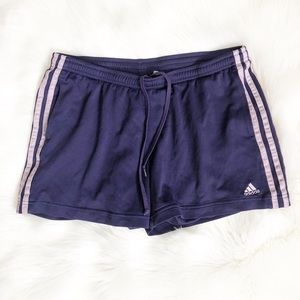 "Adidas 3-stripe Purple Shorts 3"" ⚽️ L"